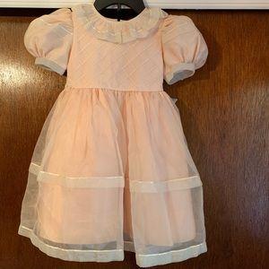 Vintage Sylvia Whyte girl's dress